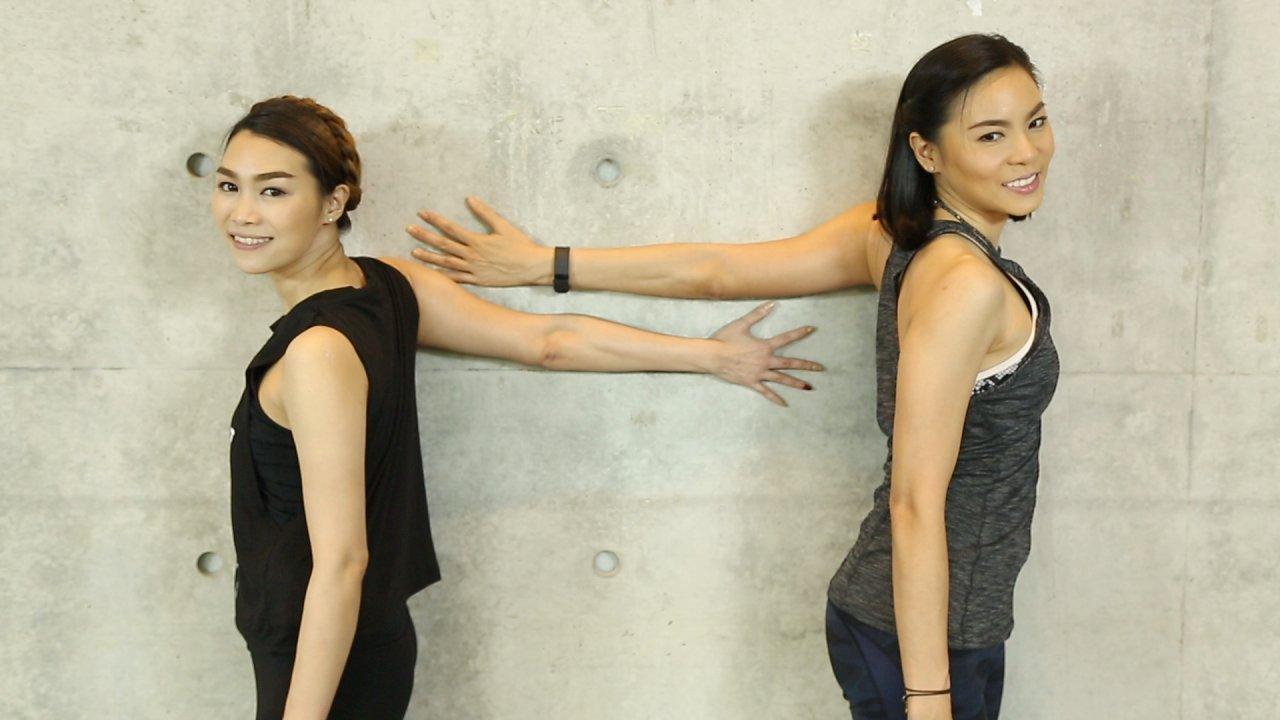 คนสู้โรค - เปลี่ยนก่อนป่วย : ฝึกโยคะชุดท่าพิงกำแพง