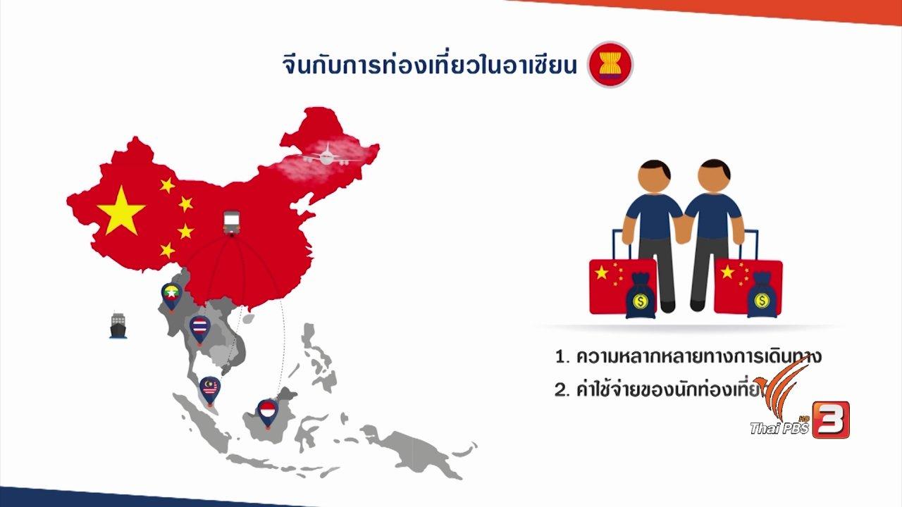 AEC Business Class  รู้ทันเออีซี - AEC Movement : จีนกับการท่องเที่ยวในอาเซียน