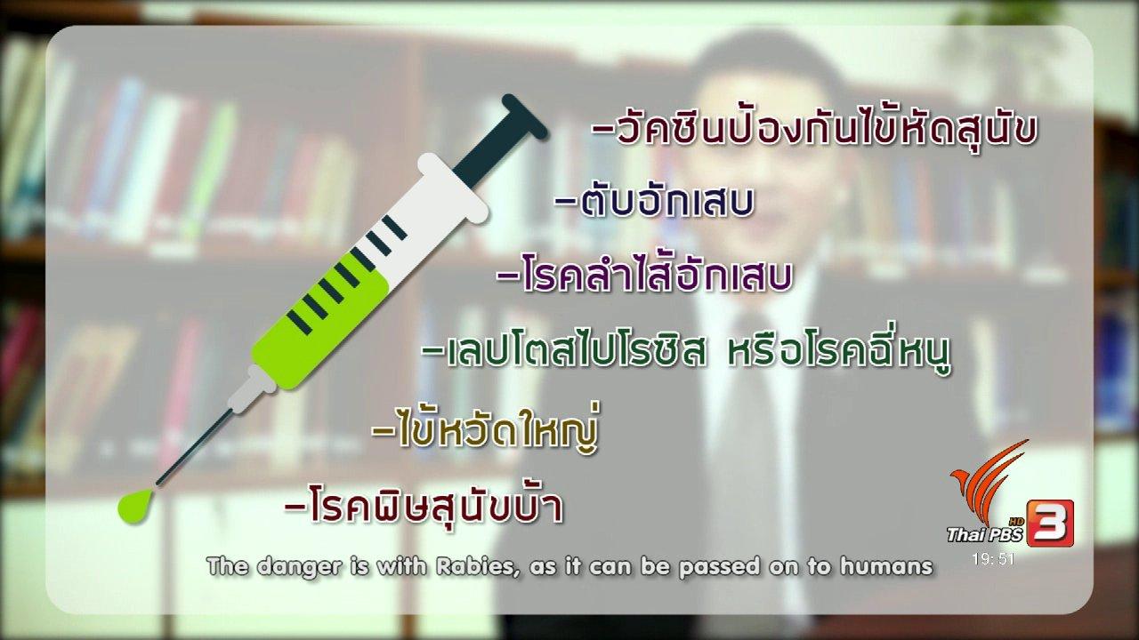 ข่าวค่ำ มิติใหม่ทั่วไทย - soเชี่ยว FAKE or FACT :  ห้ามอาบน้ำสุนัข 7 วัน หลังฉีดยา จริงหรือไม่