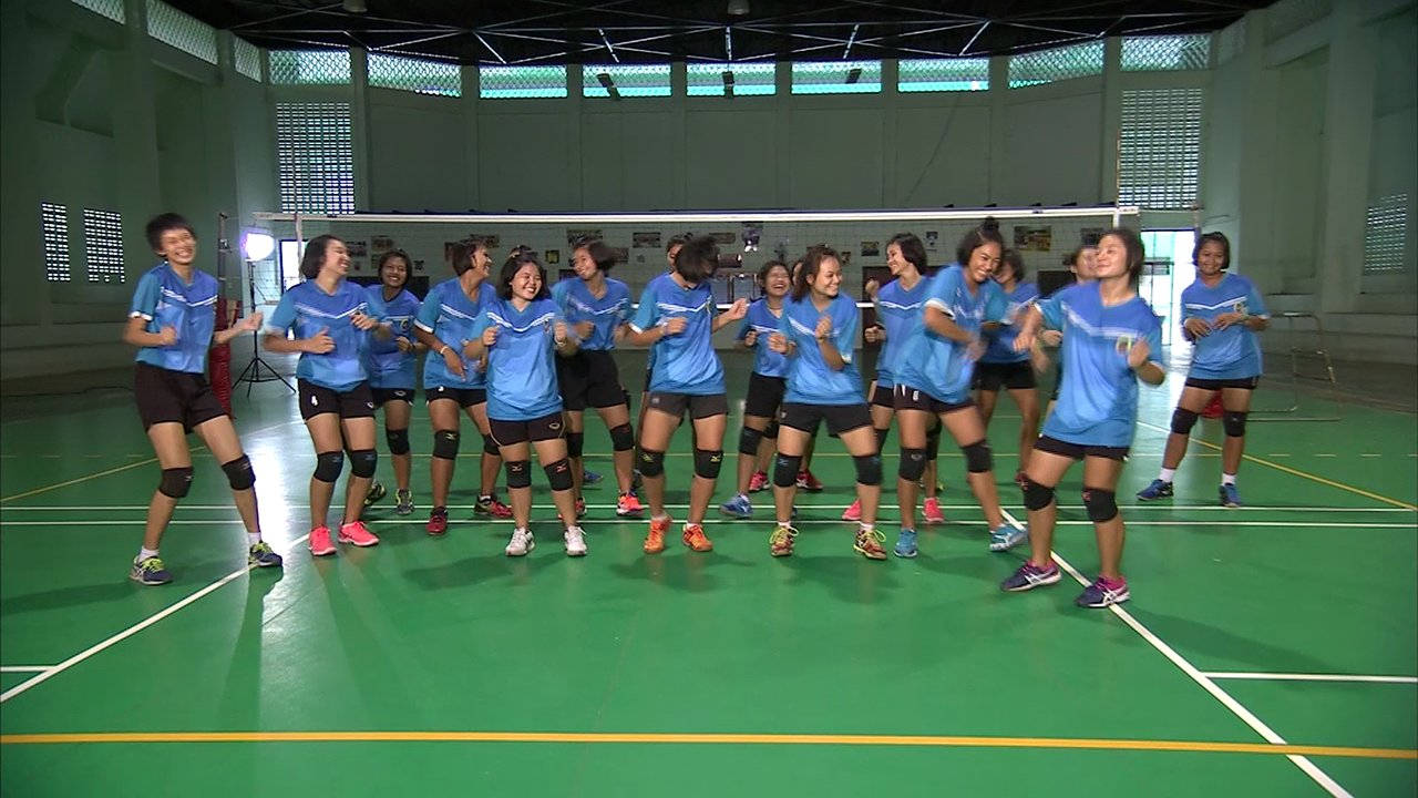 Thai PBS Girls Volleyball Super Series 2016 - Scoop idol ThaiPBS Girl Vollayball super series 2016 : โรงเรียนกีฬาจังหวัดอ่างทอง