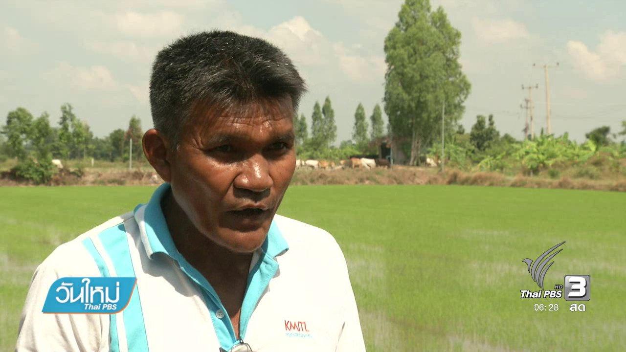 วันใหม่  ไทยพีบีเอส - เกษตรผสมผสานทางรอดชาวนาไทย