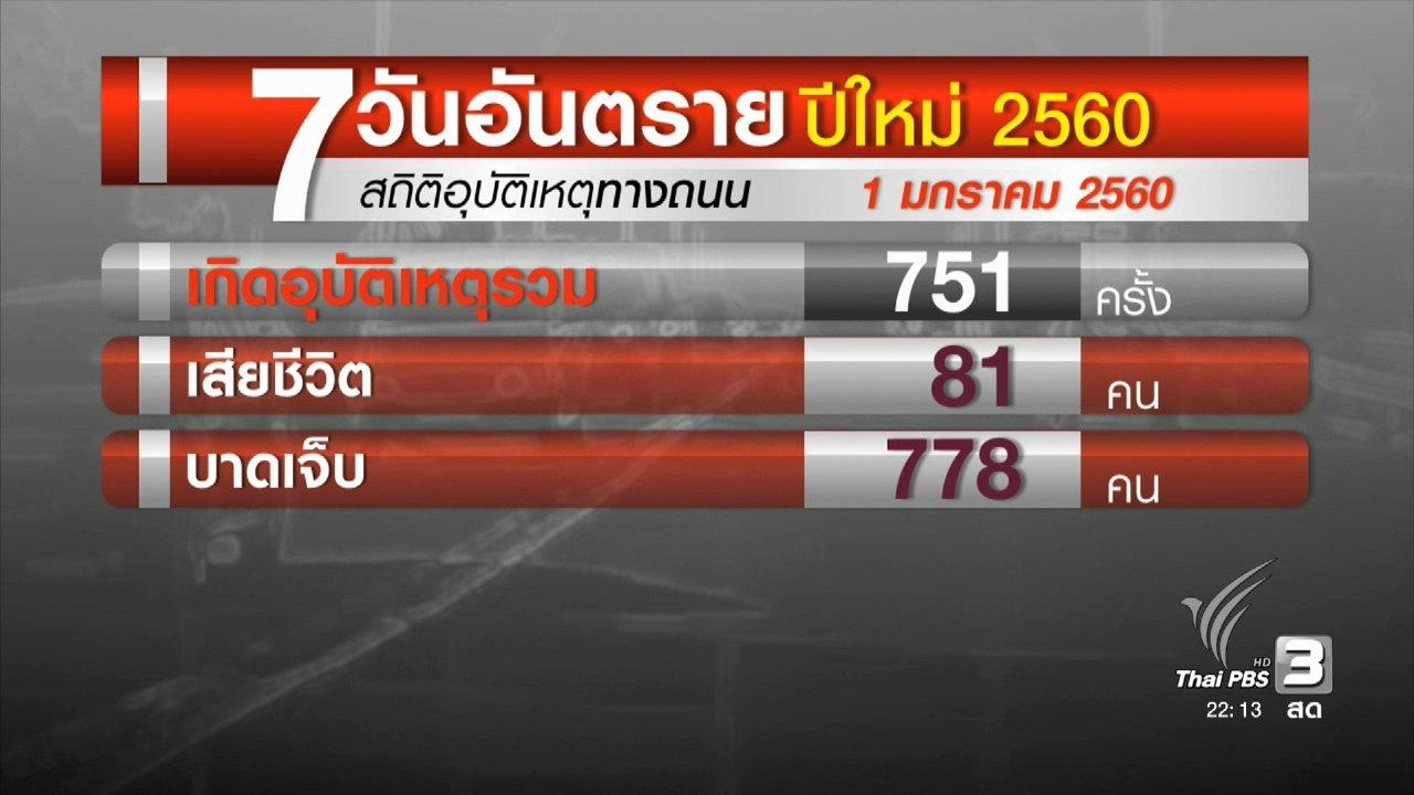 ที่นี่ Thai PBS - ประชาชนเดินทางกลับ กทม. เส้นทางเหนือ-อีสานรถหนาแน่น
