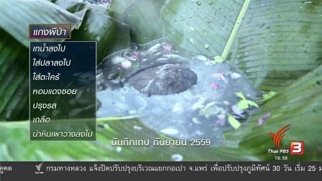 ข่าวค่ำ มิติใหม่ทั่วไทย - ตะลุยทั่วไทย : กางสาดจับปลา