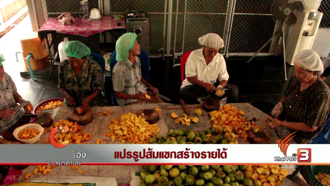 ที่นี่ Thai PBS - นักข่าวพลเมือง : แปรรูปส้มแขกสร้างรายได้