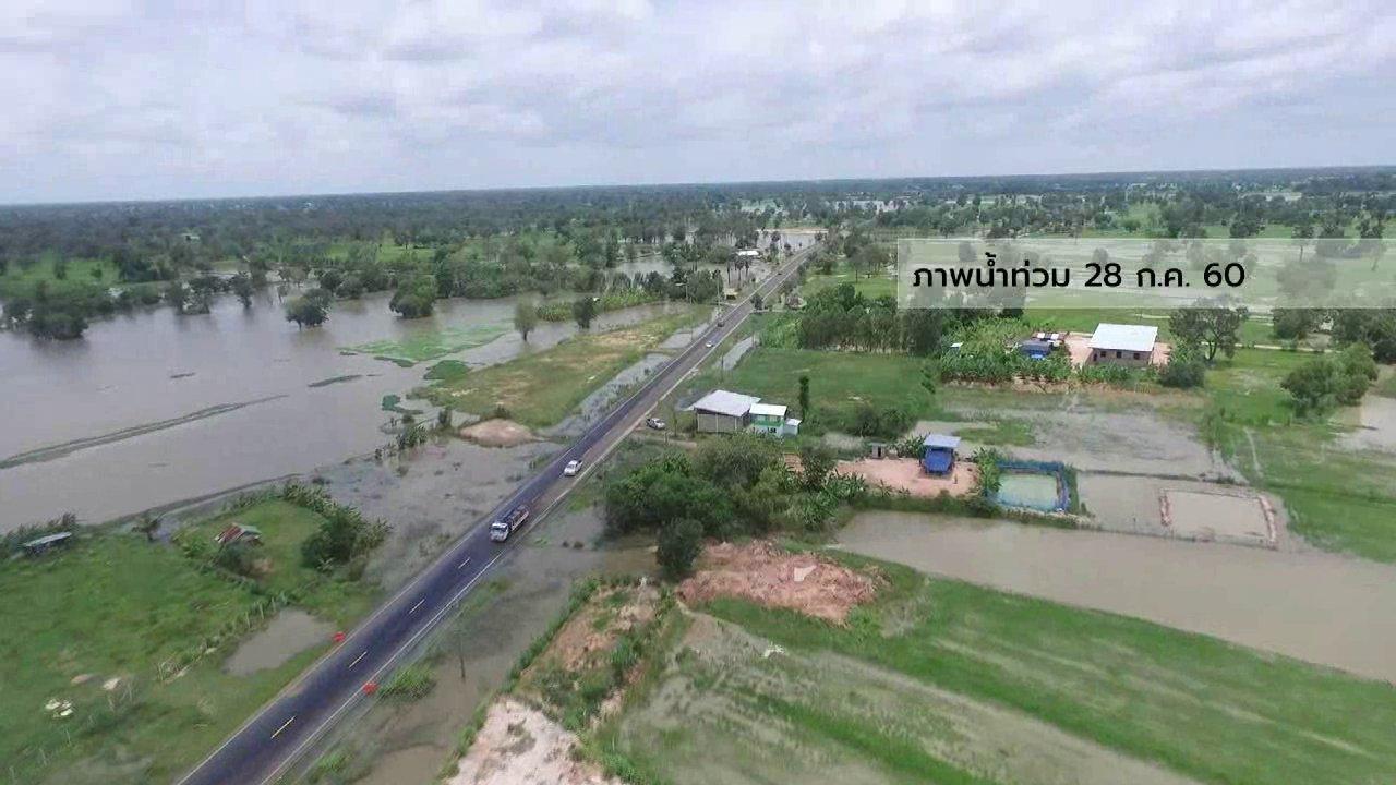 ที่นี่ Thai PBS - นักข่าวพลเมือง : น้ำท่วมนาข้าวเสียหาย อ.ไพรบึง จ.ศรีสะเกษ