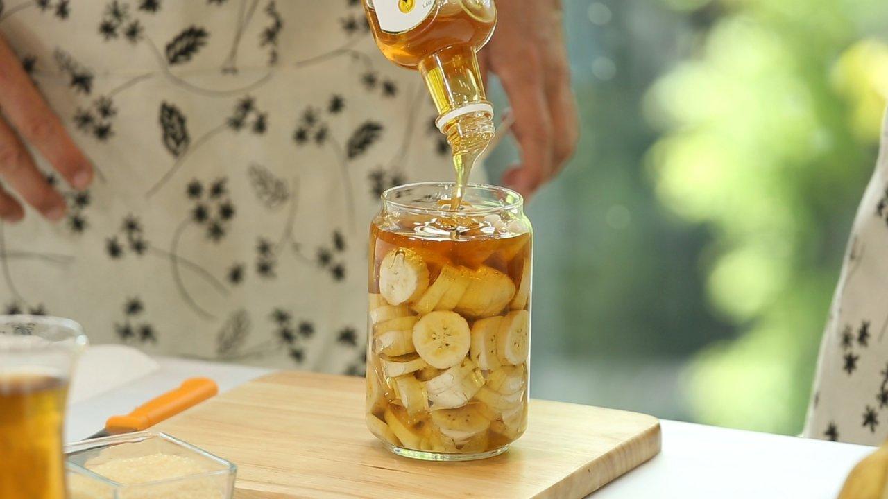 คนสู้โรค - กล้วยหมักน้ำผึ้ง