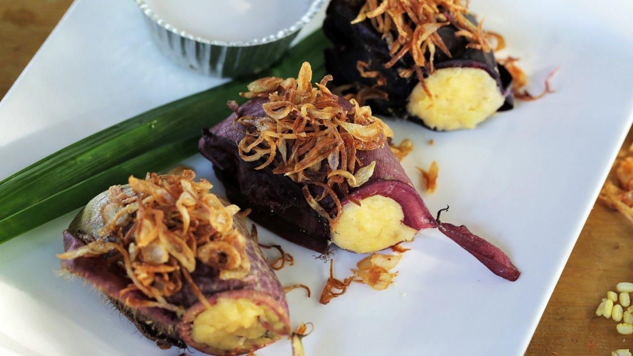 Foodwork - เมนูฟิวชัน: ขนมหม้อข้าวหม้อแกงลิง