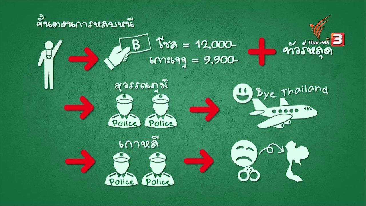 """ข่าวเจาะย่อโลก - ผลกระทบ """"คนไทยหนีทัวร์"""" อาจจะกระทบพิจารณาฟรีวีซ่าบางประเทศ"""