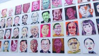 ข่าวเจาะย่อโลก ภาพวาดคนในข่าวเสียดสีสังคม สะท้อนความเปลี่ยนแปลง