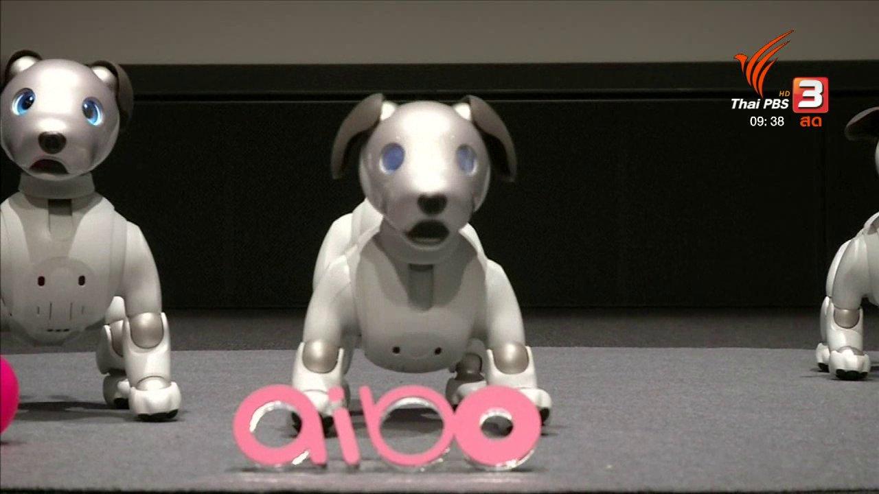 สีสันทันโลก - เปิดตัวหุ่นยนต์สุนัขรุ่นใหม่