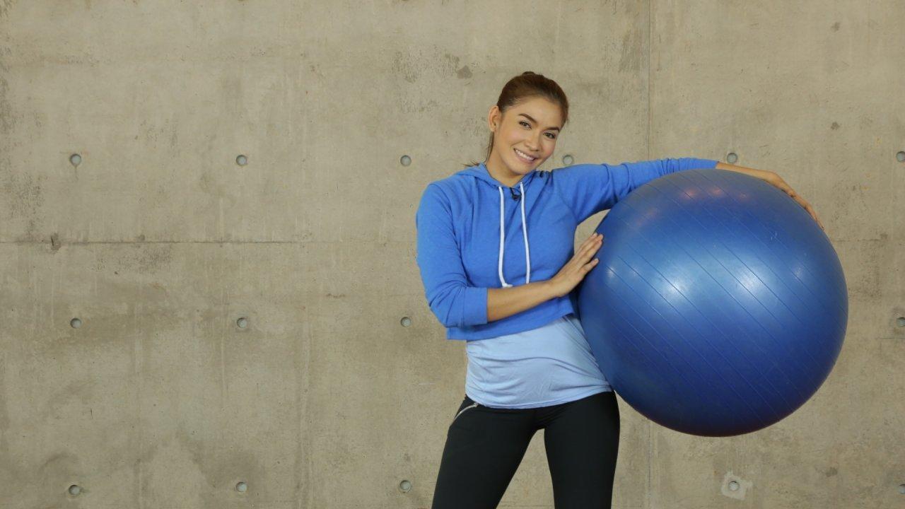 คนสู้โรค - บริหารร่างกายด้วยฟิตเนสบอล