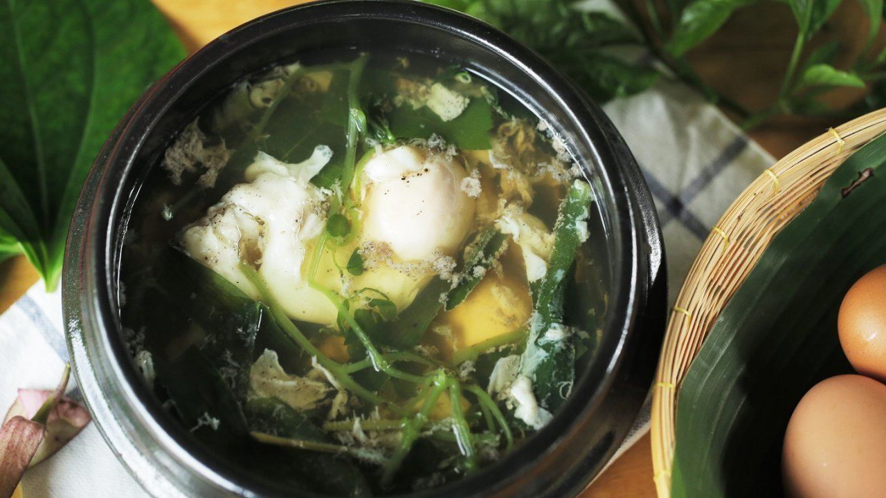 Foodwork - ซุปไข่สมุนไพร