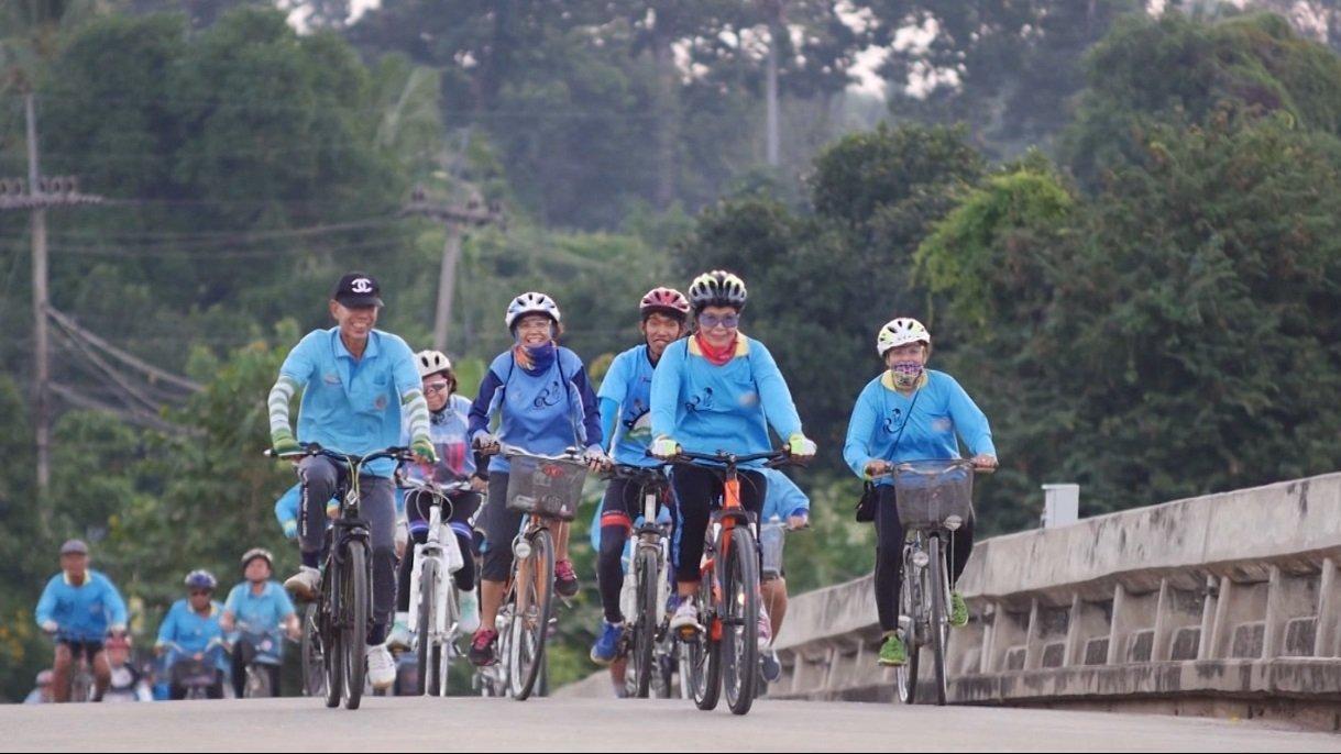 ลุยไม่รู้โรย - สูงวัยไทยแลนด์ : ชมรมจักรยานตำบลเก้าเลี้ยว จ.นครสวรรค์