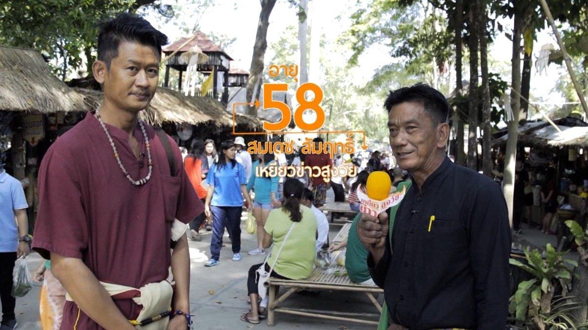 ลุยไม่รู้โรย - เหยี่ยวข่าวสูงวัย : ตลาดไทยย้อนยุคบ้านระจัน