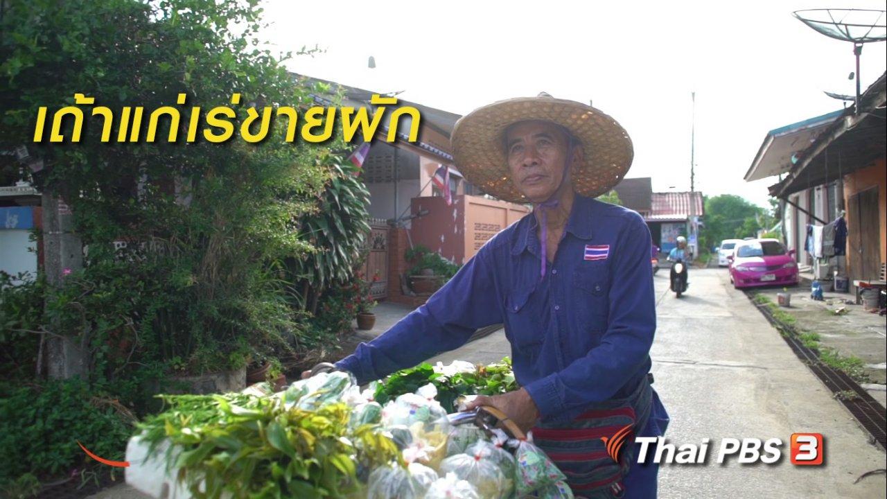 ลุยไม่รู้โรย - สูงวัยไทยแลนด์ : เถ้าแก่เร่ขายผัก