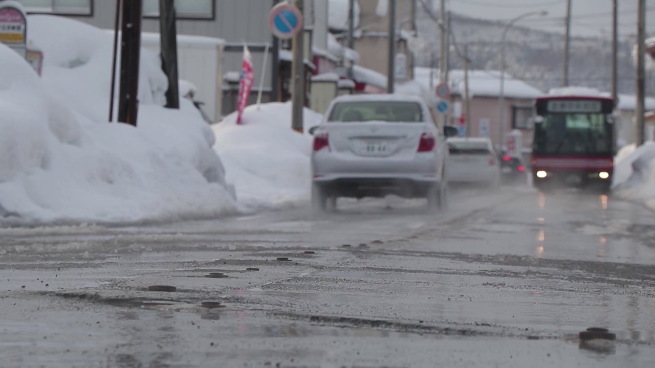 ดูให้รู้ - รู้ให้ลึกเรื่องญี่ปุ่น : ถนนปลอดภัยไร้หิมะในฤดูหนาว