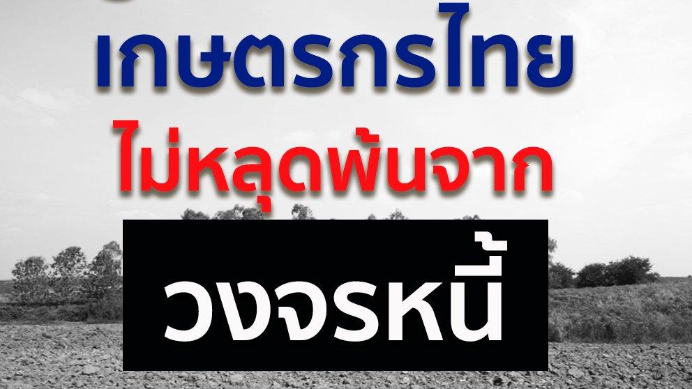 สมการหนี้ 4 ด้าน ชุด ปลดหนี้ - ปัญหาหนี้เกษตรกรไทย