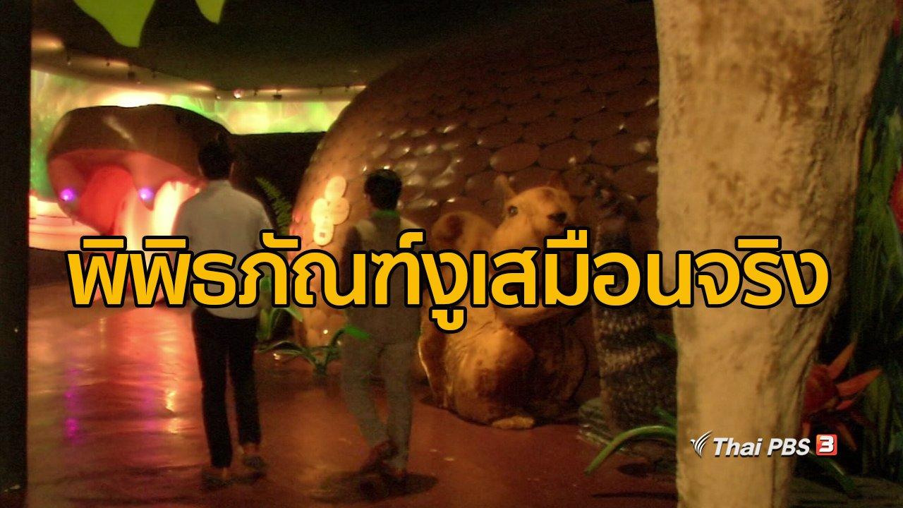 ทุกทิศทั่วไทย - ชุมชนทั่วไทย : พิพิธภัณฑ์งูเสมือนจริง