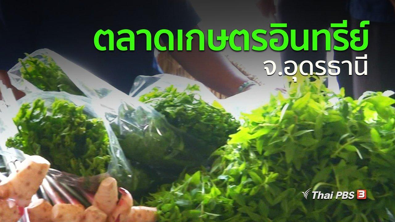 ทุกทิศทั่วไทย - ชุมชนทั่วไทย : จ.อุดรธานีเปิดพื้นที่ขายสินค้าเกษตรอินทรีย์