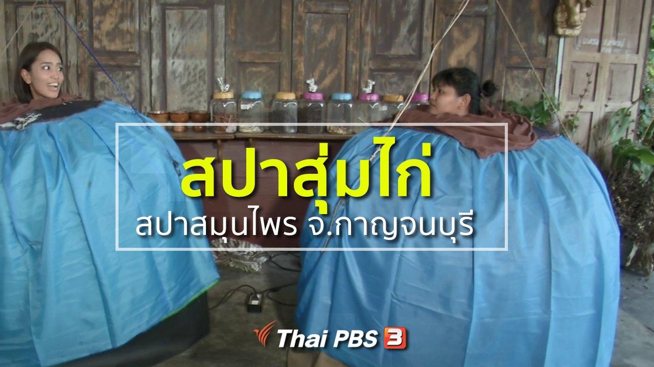 ทุกทิศทั่วไทย - วิถีทั่วไทย : สปาสุ่มไก่ สปาสมุนไพร จ.กาญจนบุรี