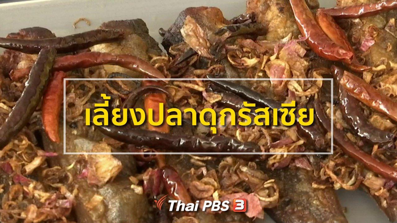 ทุกทิศทั่วไทย - อาชีพทั่วไทย : เลี้ยงปลาดุกรัสเซีย