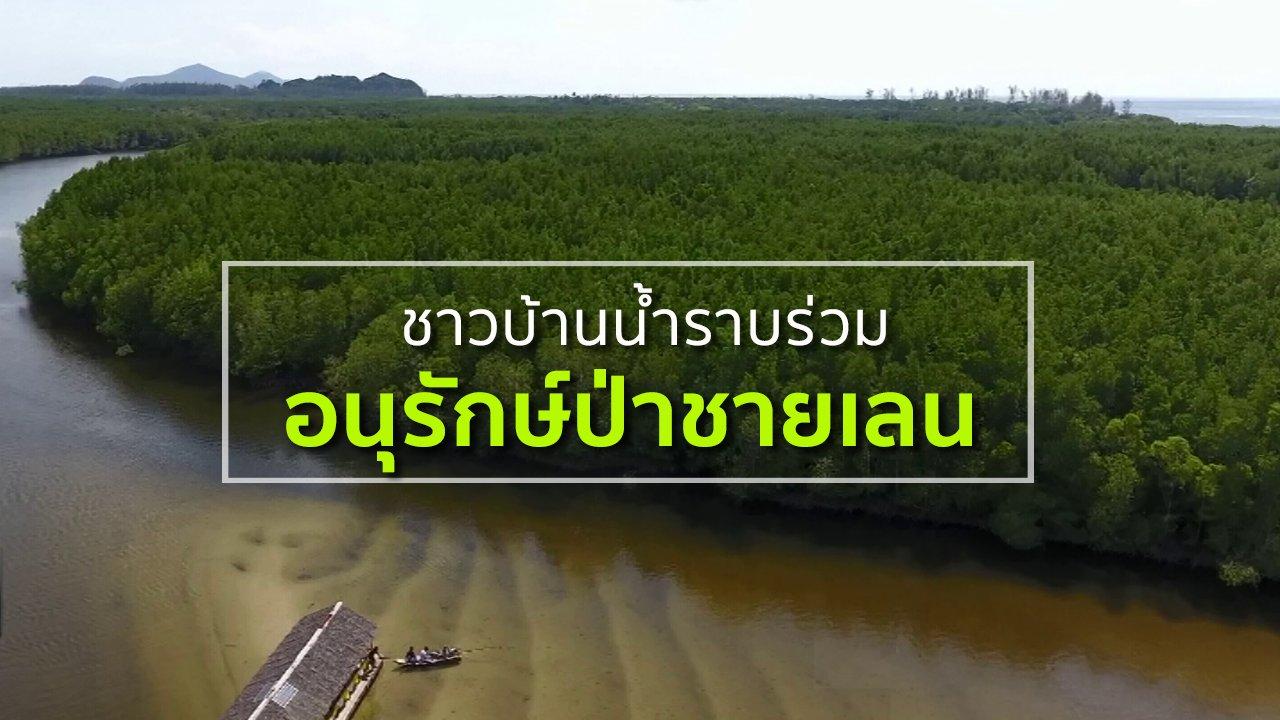 ทุกทิศทั่วไทย - ชุมชนทั่วไทย : ชาวบ้านน้ำราบร่วมอนุรักษ์ป่าชายเลน