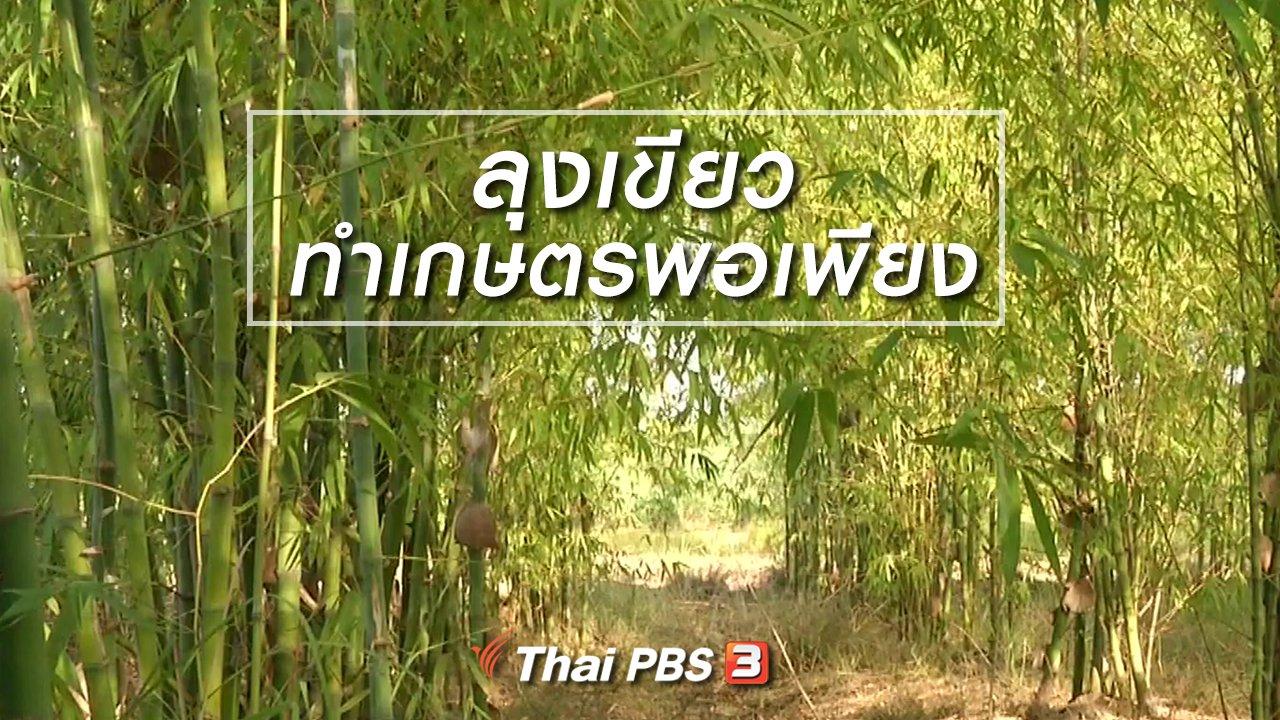 จับตาสถานการณ์ - ตะลุยทั่วไทย : ลุงเขียวทำเกษตรพอเพียง