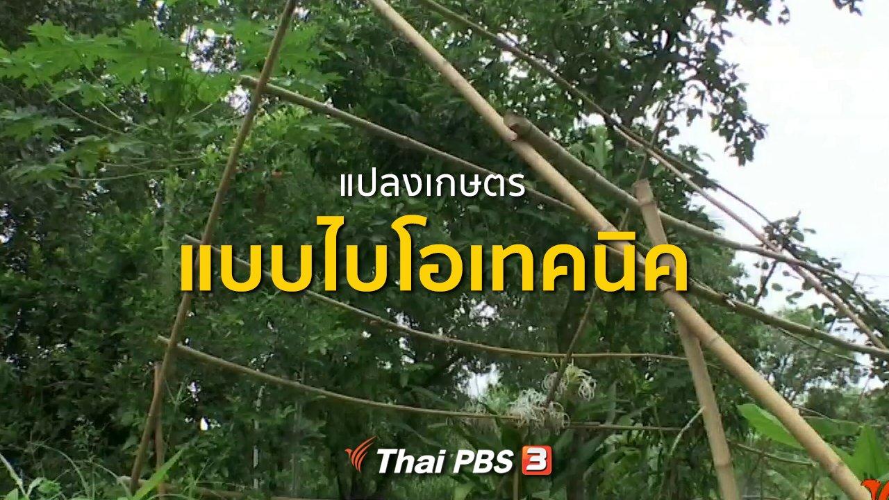 ทุกทิศทั่วไทย - ชุมชนทั่วไทย : แปลงเกษตรแบบไบโอเทคนิค