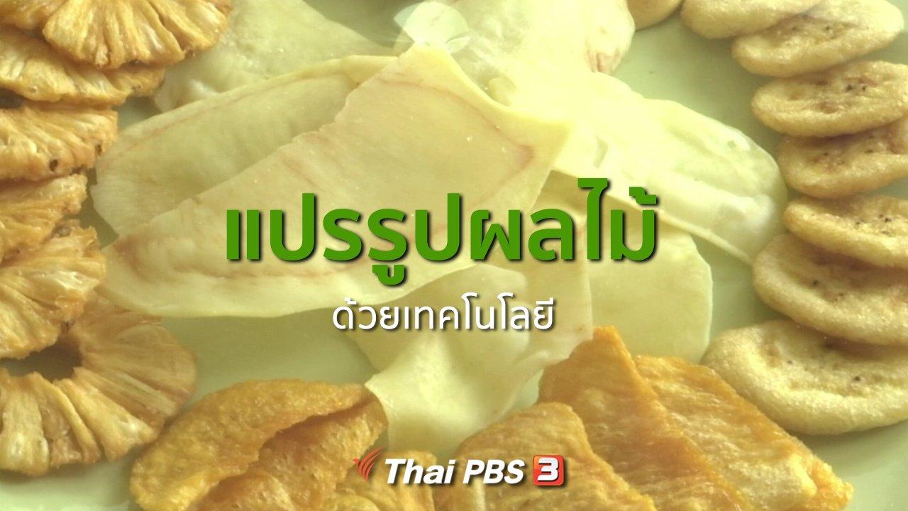 ทุกทิศทั่วไทย - อาชีพทั่วไทย :  แปรรูปผลไม้ด้วยเทคโนโลยี จ.จันทบุรี