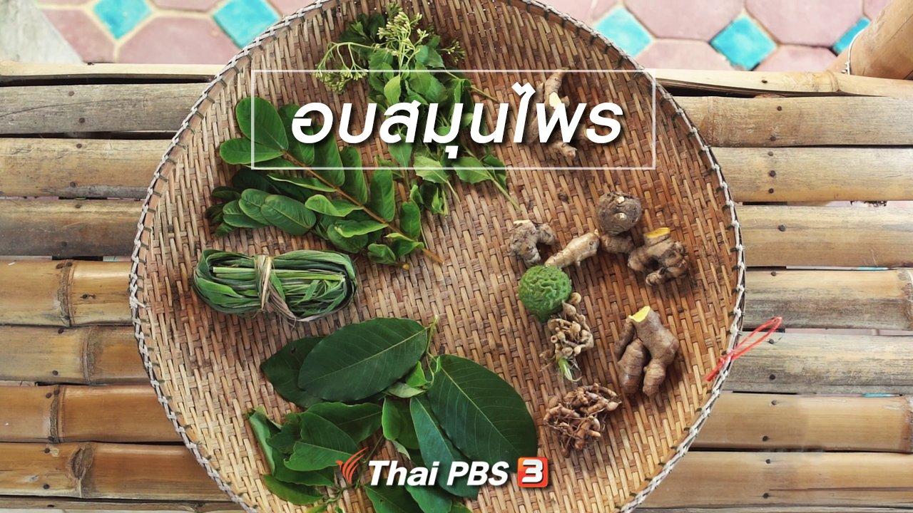 ทั่วถิ่นแดนไทย - เรียนรู้วิถีไทย : อบสมุนไพร