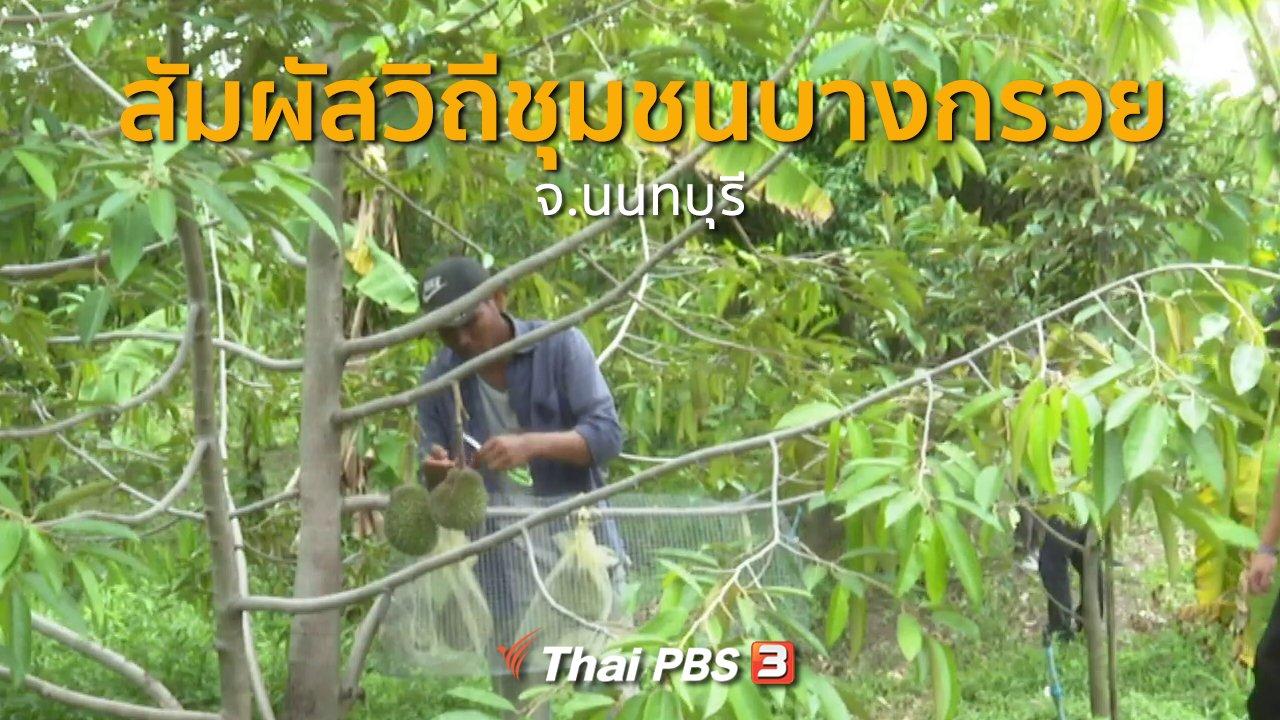 ทุกทิศทั่วไทย - ชุมชนทั่วไทย : สัมผัสวิถีชุมชนบางกรวย จ.นนทบุรี