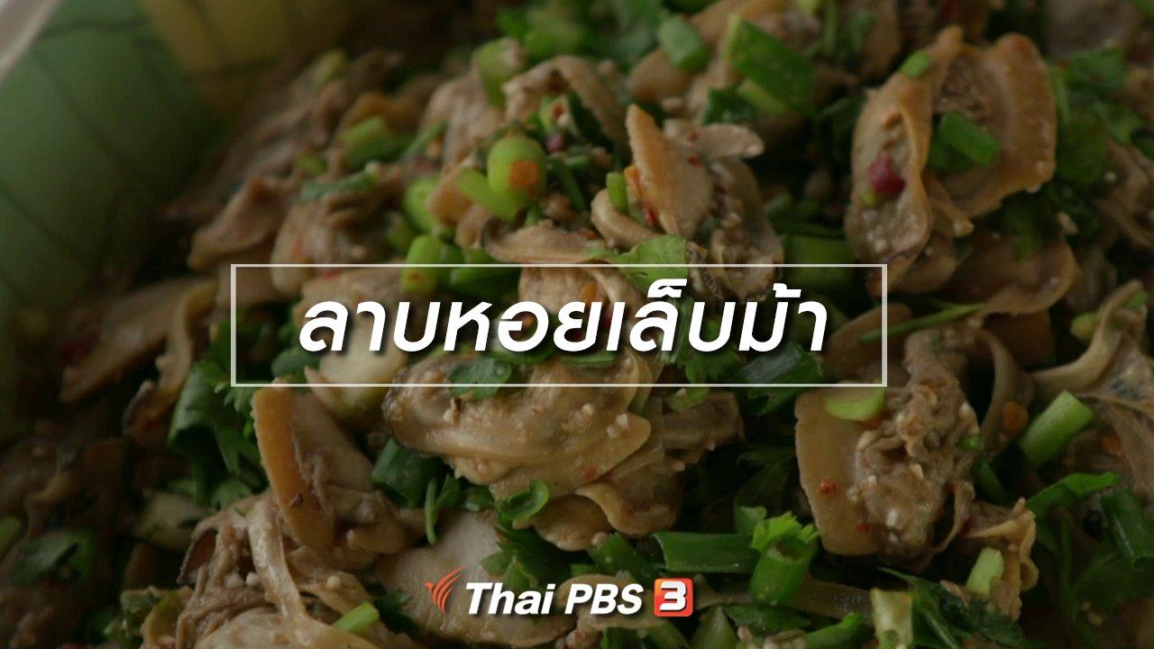 จับตาสถานการณ์ - ตะลุยทั่วไทย : ลาบหอยเล็บม้า