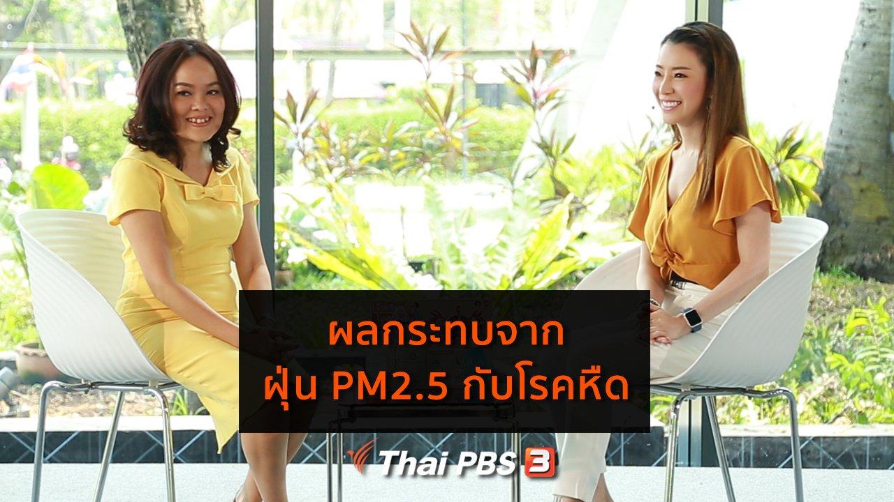 คนสู้โรค - รู้สู้โรค : ผลกระทบจากฝุ่น PM2.5 กับโรคหืด
