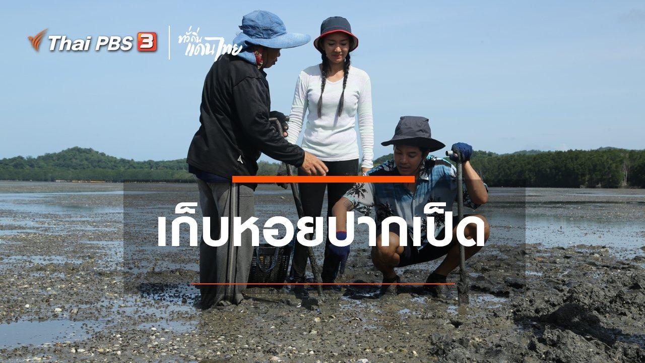 ทั่วถิ่นแดนไทย - เรียนรู้วิถีไทย : เก็บหอยปากเป็ด