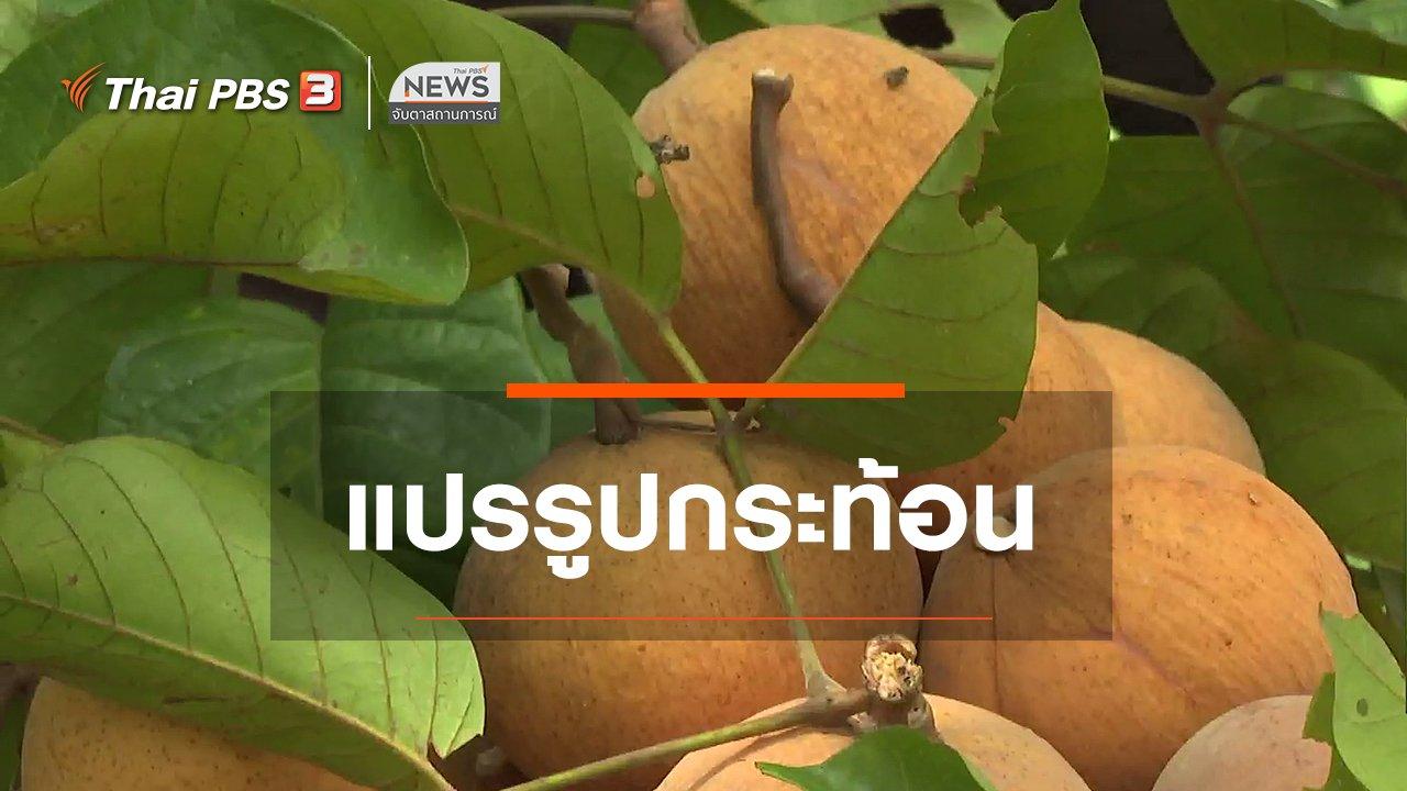 จับตาสถานการณ์ - ตะลุยทั่วไทย : แปรรูปกระท้อน