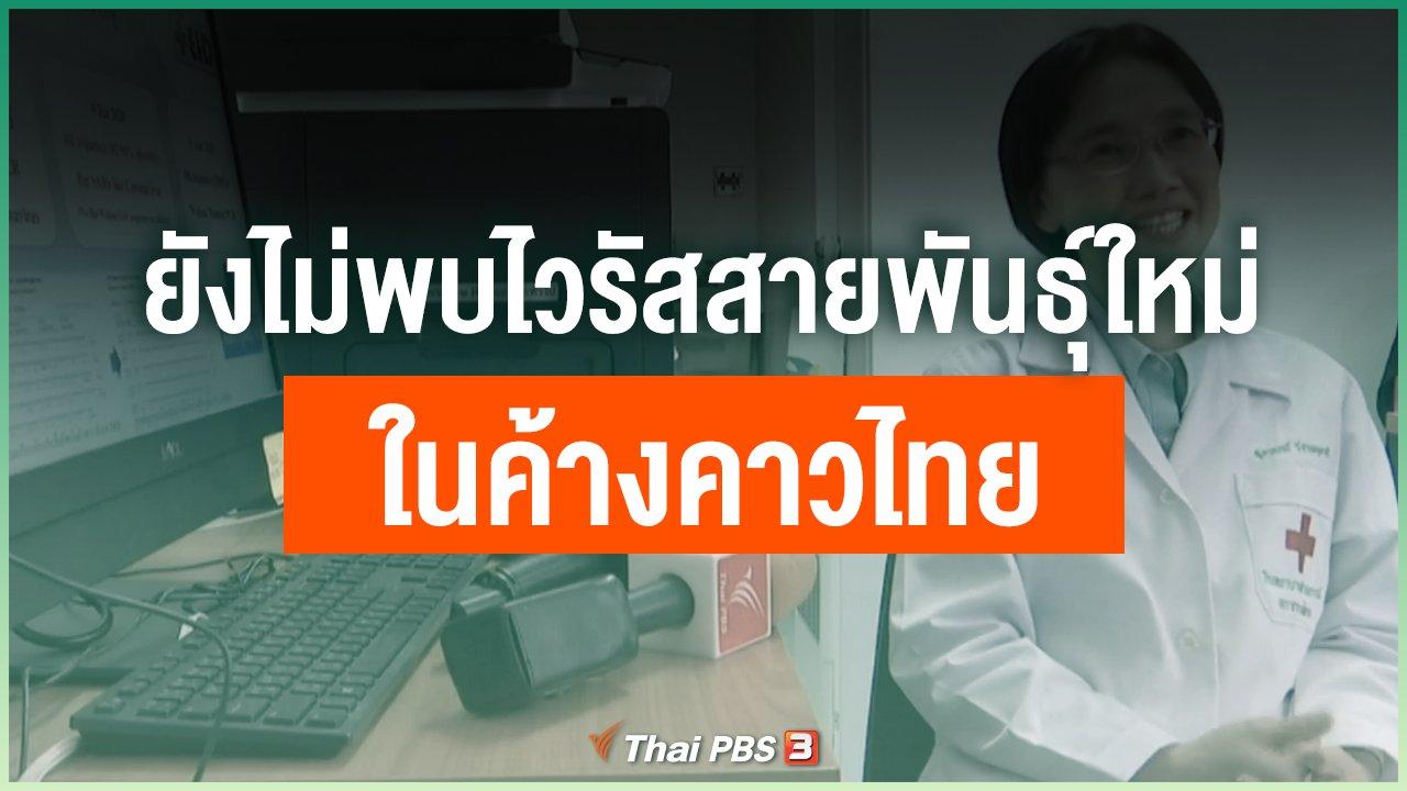 Coronavirus - ยังไม่พบไวรัสสายพันธุ์ใหม่ ในค้างคาวไทย