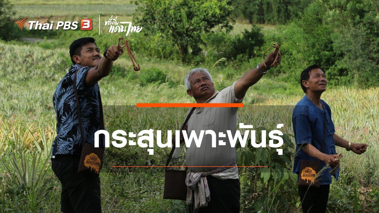 ทั่วถิ่นแดนไทย - เรียนรู้วิถีไทย : กระสุนเพาะพันธุ์
