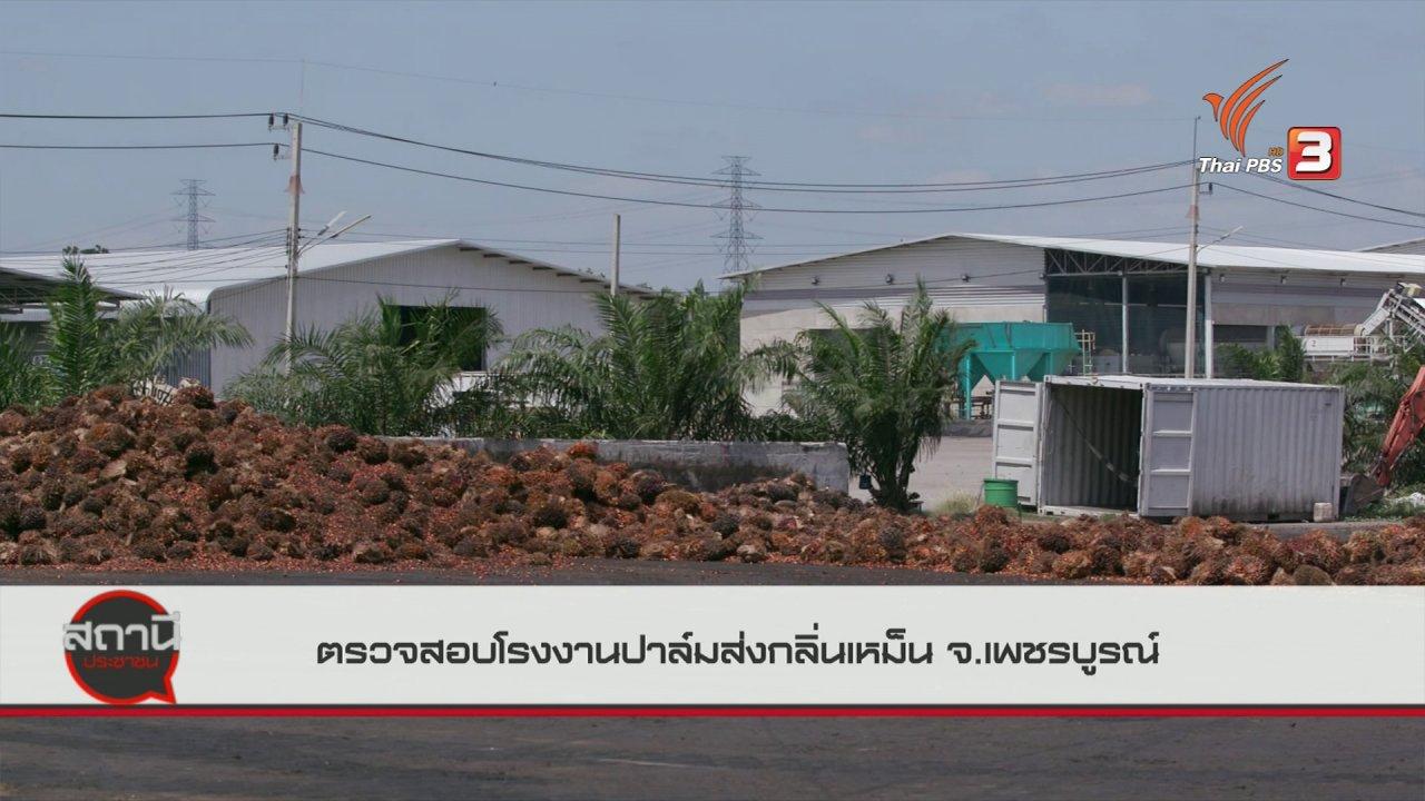 สถานีประชาชน - สถานีร้องเรียน : ตรวจสอบโรงงานปาล์มส่งกลิ่นเหม็น จ.เพชรบูรณ์