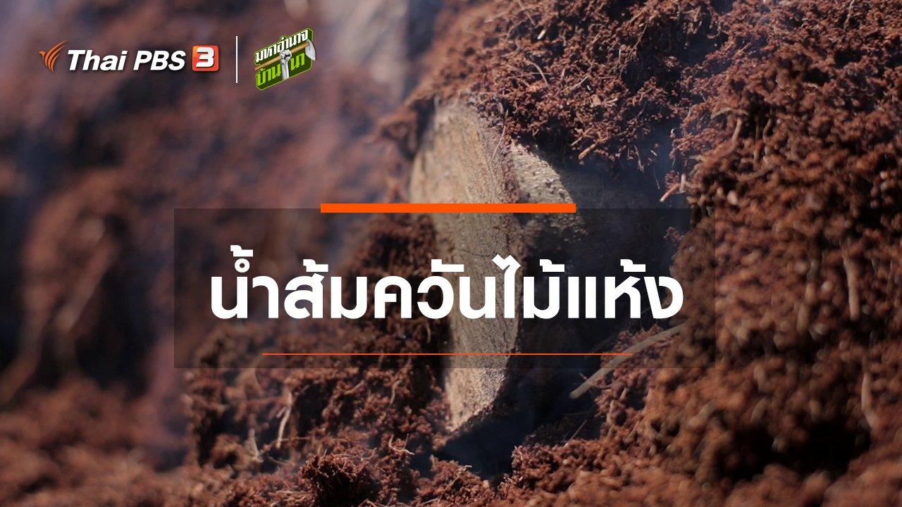 มหาอำนาจบ้านนา - สูตรลับฉบับบ้านนา : น้ำส้มควันไม้แห้ง