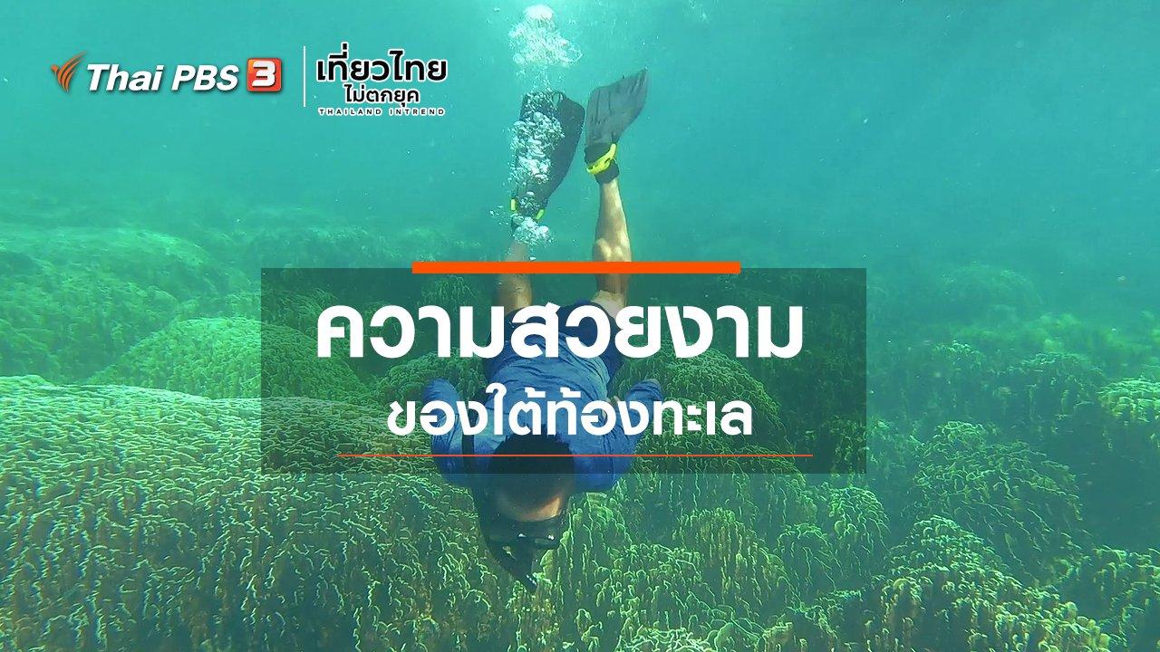 เที่ยวไทยไม่ตกยุค - เที่ยวทั่วไทย : ความสวยงามของใต้ท้องทะเล