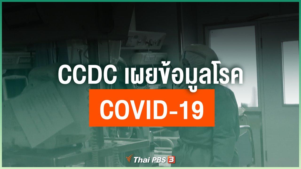 Coronavirus - CCDC เผยข้อมูลโรค COVID-19