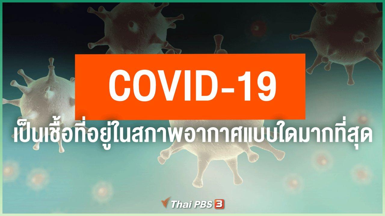 วันใหม่วาไรตี้ - COVID-19 เป็นเชื้อที่อยู่ในสภาพอากาศแบบใดมากที่สุด จะทำอย่างไรจึงจะลดการระบาดลงได้