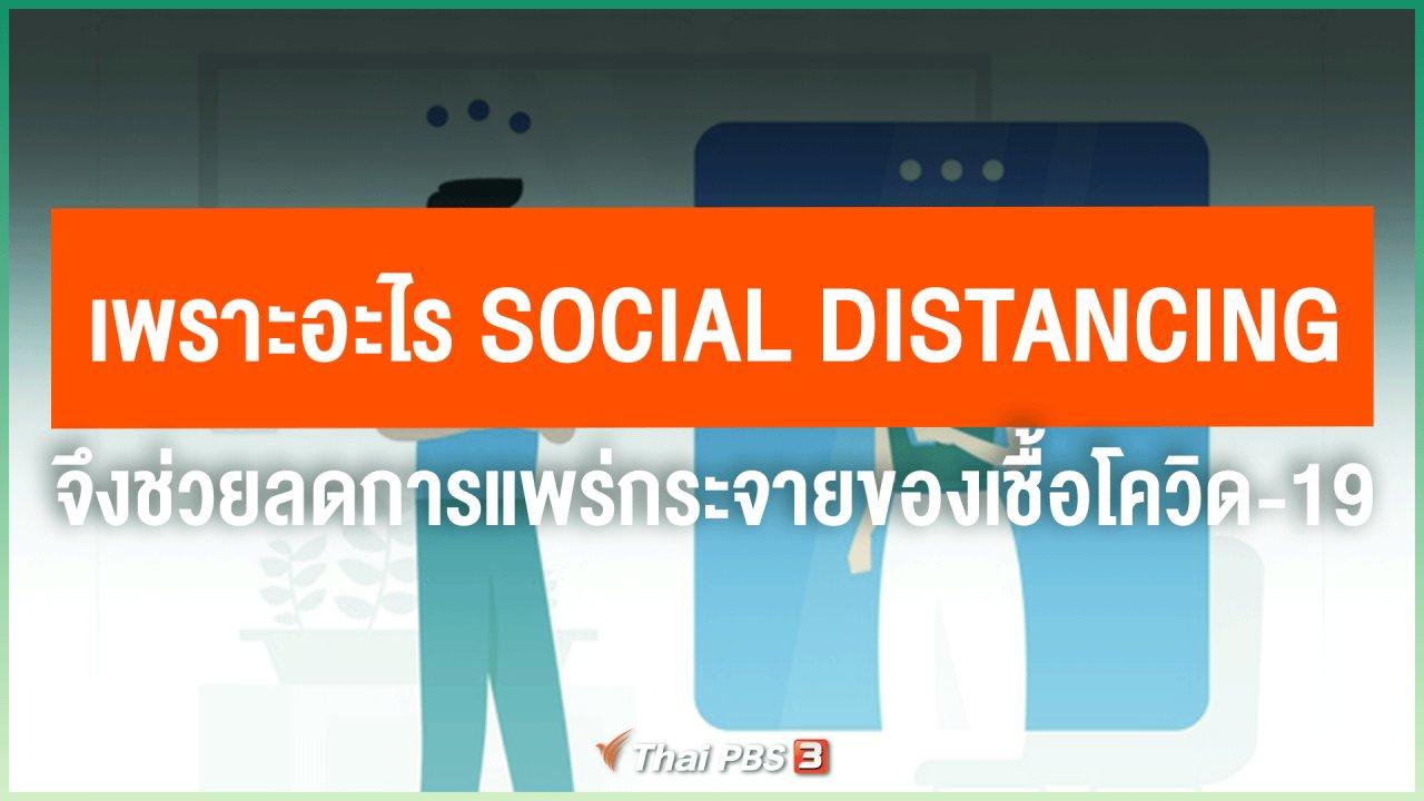 วันใหม่วาไรตี้ - เพราะอะไร Social Distancing จึงช่วยลดการแพร่กระจายของเชื้อโควิด-19