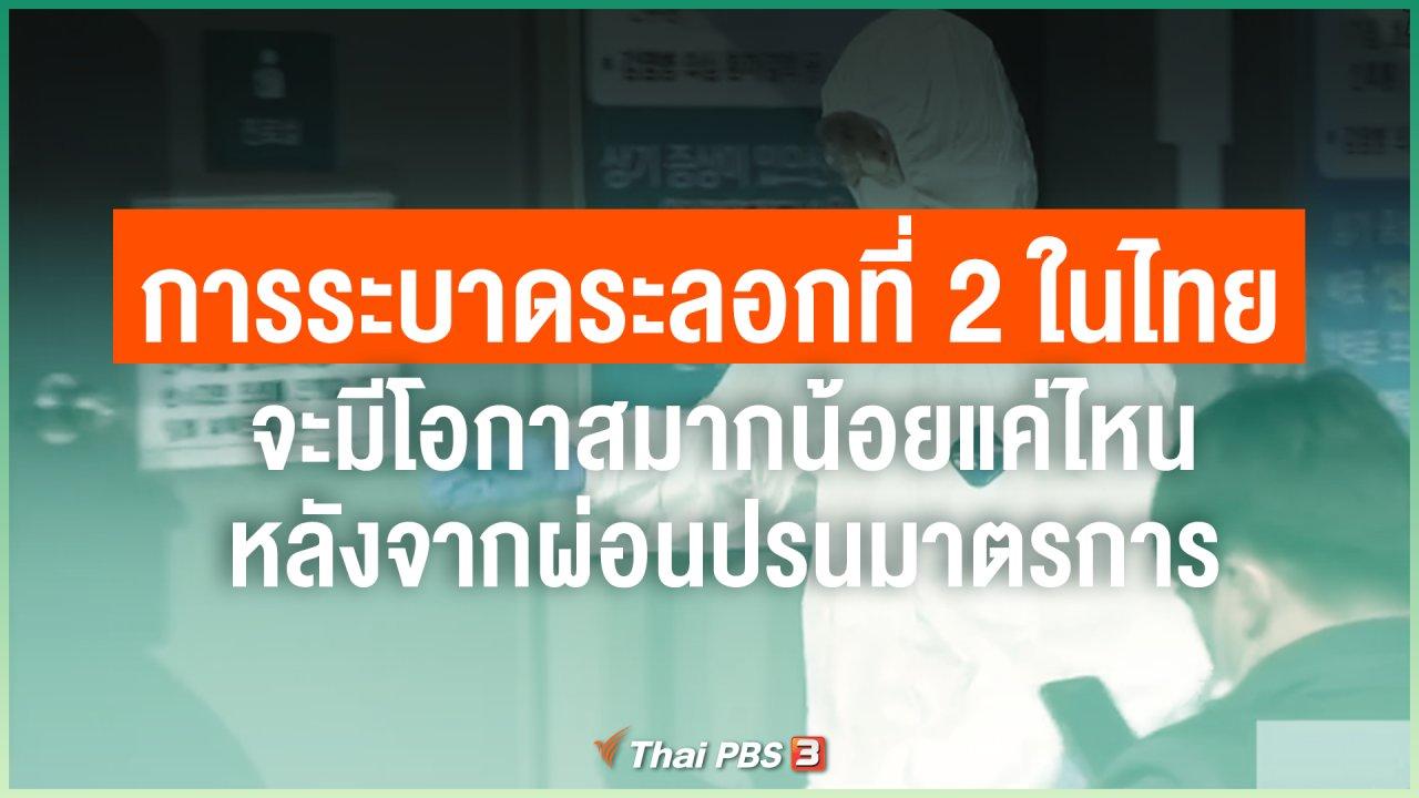 วันใหม่วาไรตี้ - การระบาดระลอกที่ 2 ในไทย จะมีโอกาสมากน้อยแค่ไหน หลังจากผ่อนปรนมาตรการ