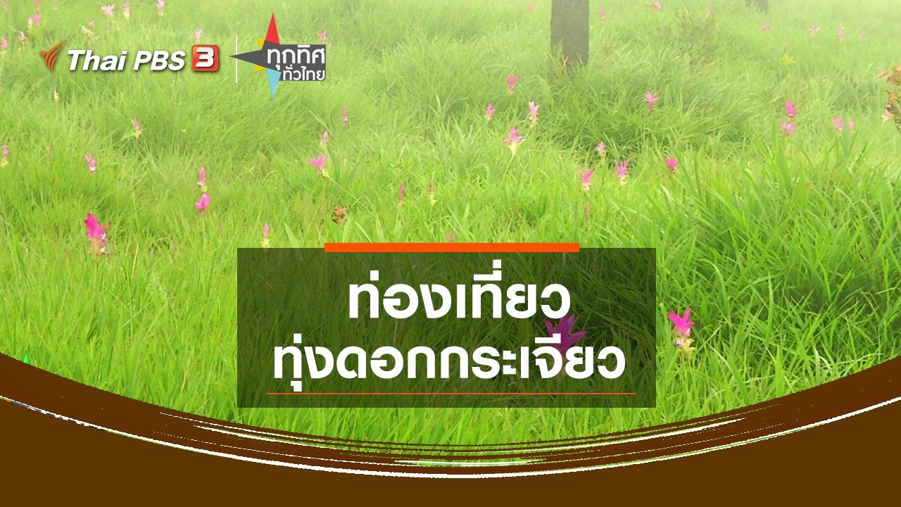 ทุกทิศทั่วไทย - ท่องเที่ยวทุ่งดอกกระเจียว