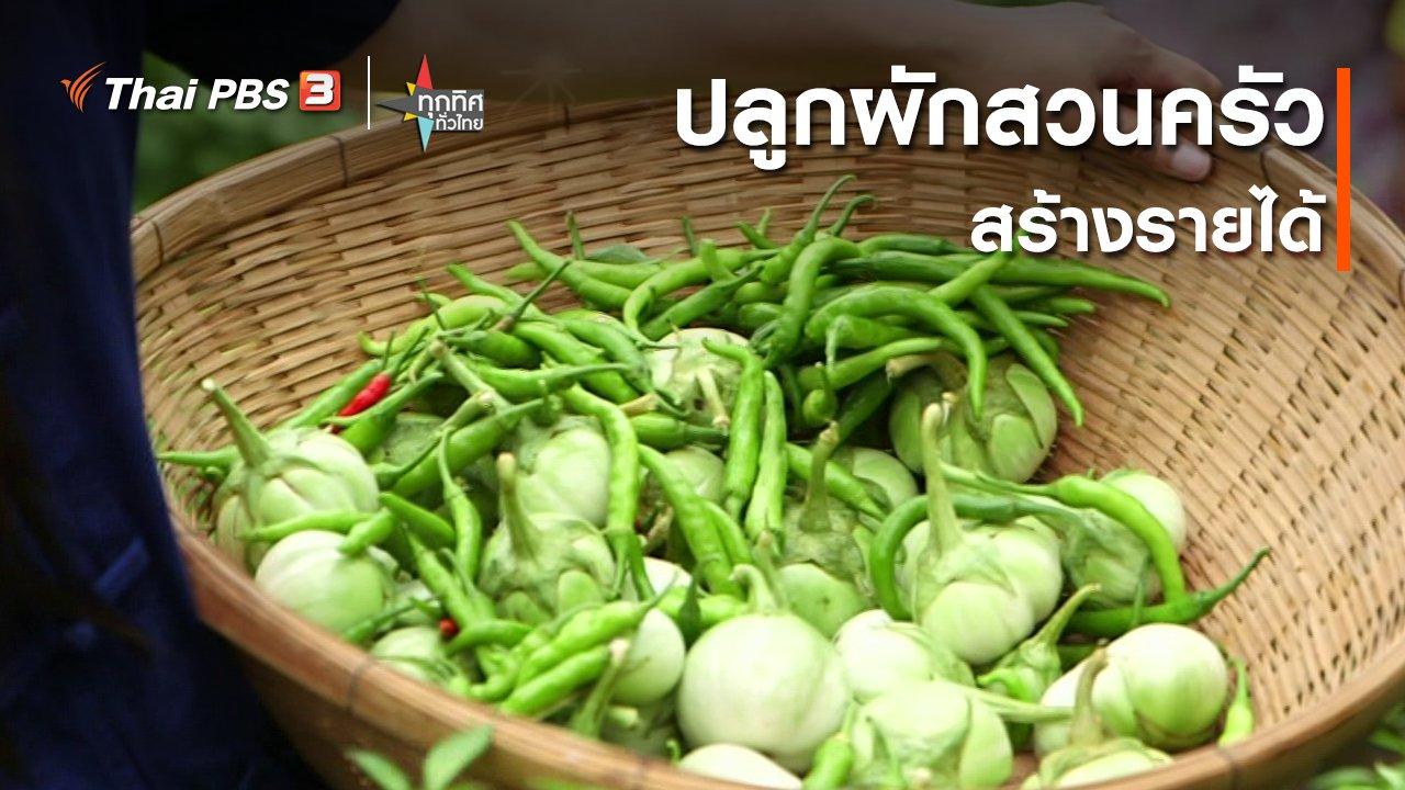 ทุกทิศทั่วไทย - ปลูกผักสวนครัวสร้างรายได้