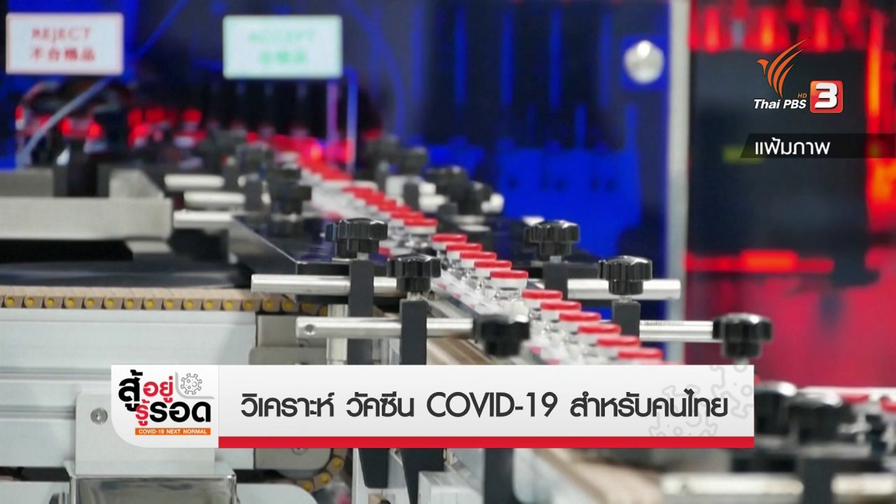 สถานีประชาชน - สถานีร้องเรียน : วิเคราะห์วัคซีน COVID-19 สำหรับคนไทย