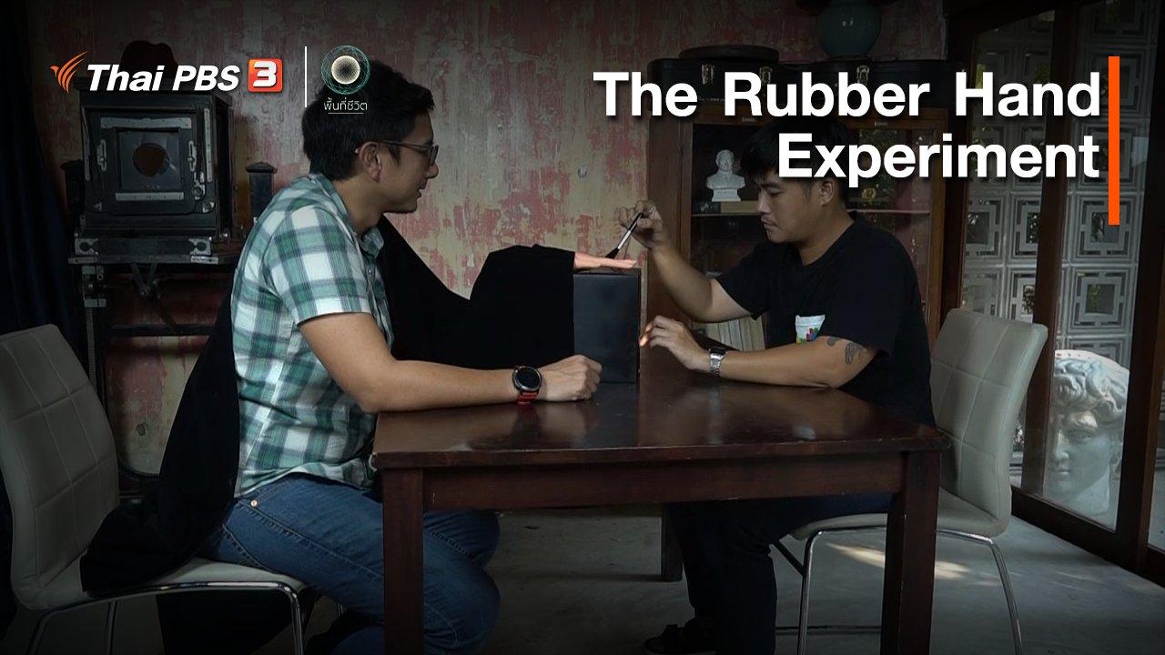 พื้นที่ชีวิต - เปิดโลกเปิดความคิด : The Rubber Hand Experiment